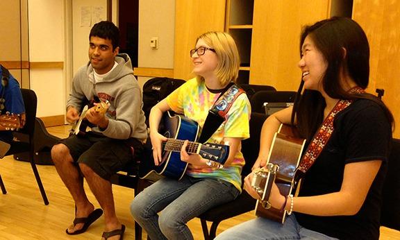 teen guitar class